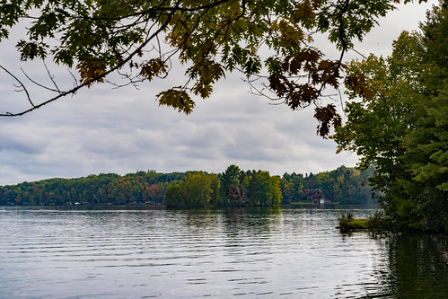 Autumn at Crescent Lake, Wisconsin