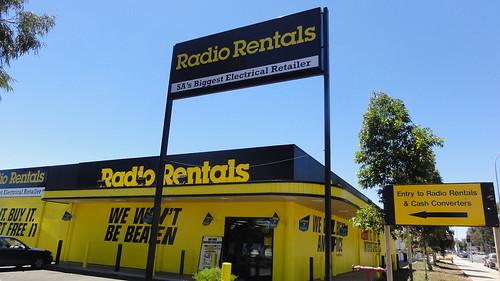 Radio Rentals Elizabeth - November 2012