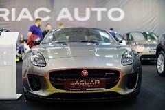 Jaguar F-Type, close-up view at SAB 2019