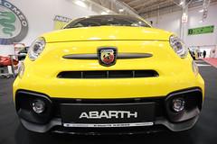 Abarth 595 Competizione sport car at Bucharest Auto Show 2019 SAB