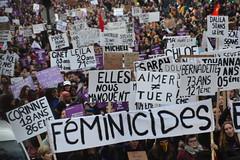 Marche contre les violences sexistes et sexuelles