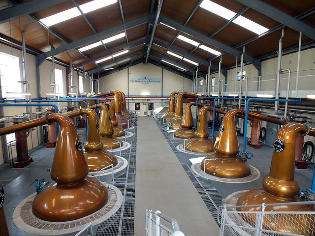 Glenfiddich Distillery in Dufftown