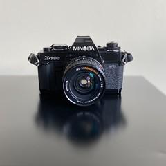 Minolta X-700 with MD W.Rokkor-X 24mm f/2.8 lens