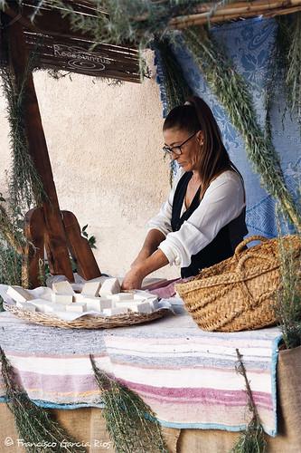 El puesto de jabón de sosa / The Soap of Castile Stall