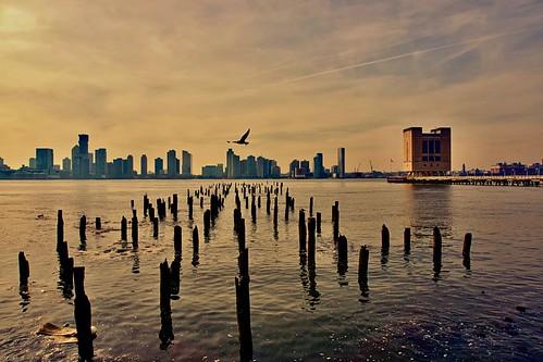Solo flight - SoHo, New York City