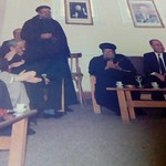 القمص لوقا جبره راعي كنيسة العذراء بينها وكيل مطرانية القليوبيه ومركز قويسنا
