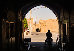Iran, Yazd - Light at the end of the tunnel - October 2019