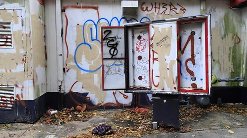 Menu Board - Abandoned Restaurant