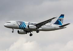 EGLL - Airbus A320 - EgyptAir - SU-GCB