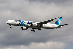 EGLL - Boeing 777 - EgyptAir - SU-GDO