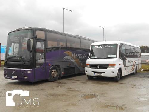 Volvo Plaxton & Mercedes Benz Vario 0 816 Euro V33