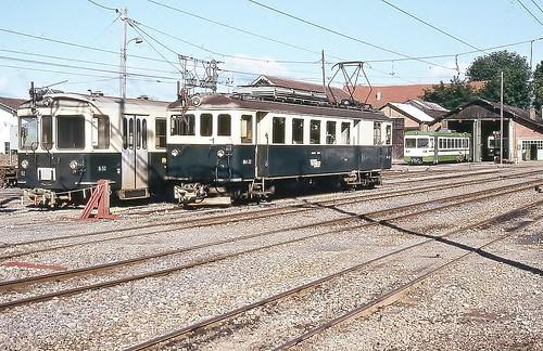Trains Lausanne Echallens Bercher (Suisse)
