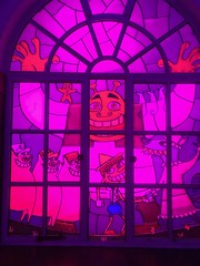 Shrek stained-glass window