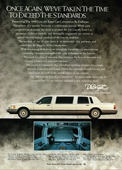 1990 Lincoln Town Car Limousine
