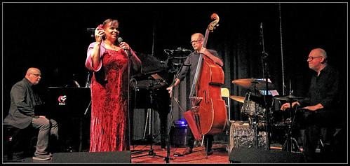 Johan Clement Trio featuring Deborah Carter, Jazz al'trappe 04/10/19, Centre culturel d'Ans, Belgium