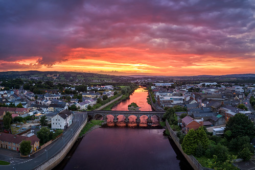 Strabane Town & The River Mourne