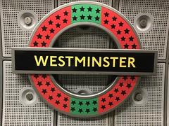 Westminster art roundel 2