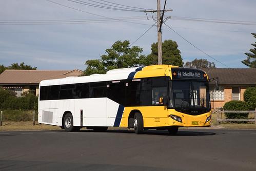 Shoal Bus 8982 MO MAN 19.320/Custom SB80 returning to the depot