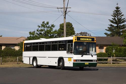 Shoal Bus 2383 MO Volvo B10M MkIV/CC 238 arriving back at the depot