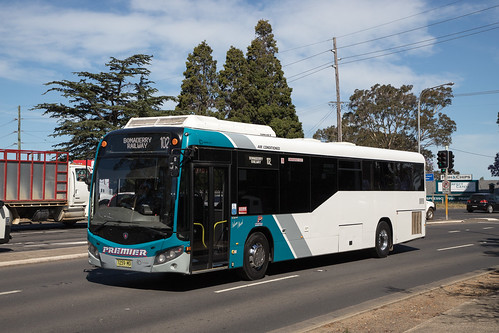 Premier Shoalhaven 7259 MO Scania K280UB/Custom CB80 on a service to Bomaderry Station