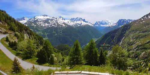 Switzerland June 2019 Verticalp Funicular at Chatelard Image 471
