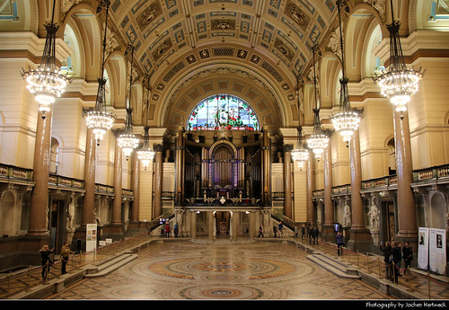 St George's Hall, Liverpool, UK
