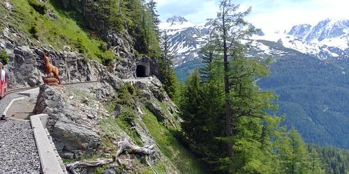 Switzerland June 2019 Verticalp Funicular at Chatelard Image 495