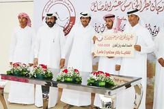 تتويج الفائزين بمهرجان قطر الخامس عشر للأصايل (اللقايا والحقايق) مساء 25-11-2019