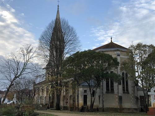 Église Notre-Dame-de-l'Assomption de Mimizan (Landes, France) / Kirche Mariä Himmelfahrt von Mimizan (Landes, Frankreich) / Церковь Богоматери Успения в Мимизане (Ланды, Франция)