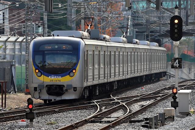 KORAIL, 351000系, Bundang Line, 왕십리역