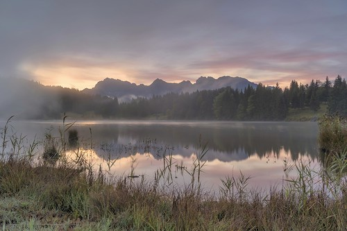 *Morgenzauber am Geroldsee*