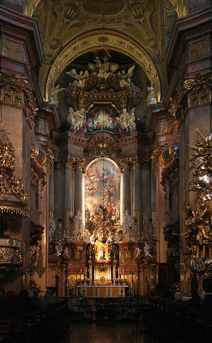 In der Peterskirche in Wien