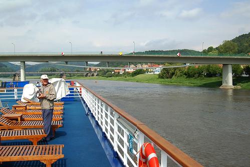 Elbe Brücke in Bad-Schandau