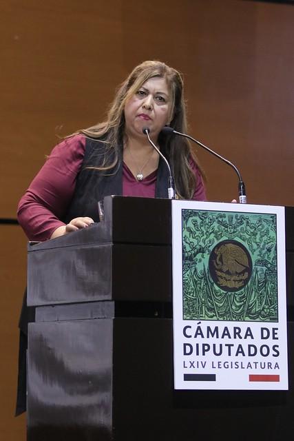 30/10/2019 Participación de la Dip. Juana Carrillo Luna