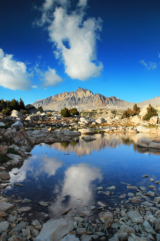 Murial Lake and Mt. Humphreys