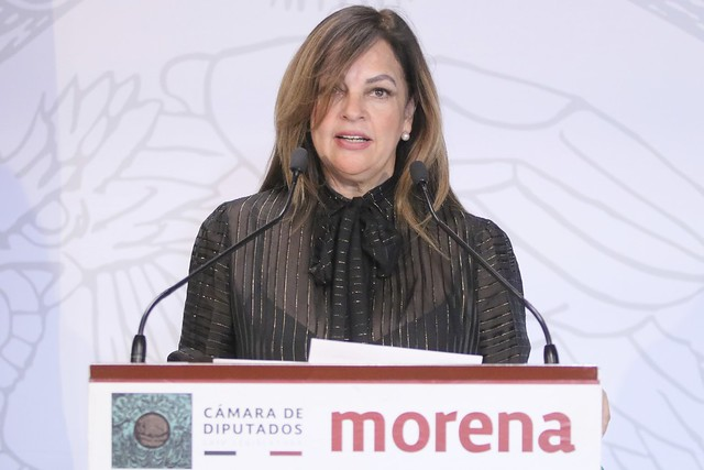 25/11/2019 Conferencia De Prensa Dio. Lorena Villavicencio Ayala