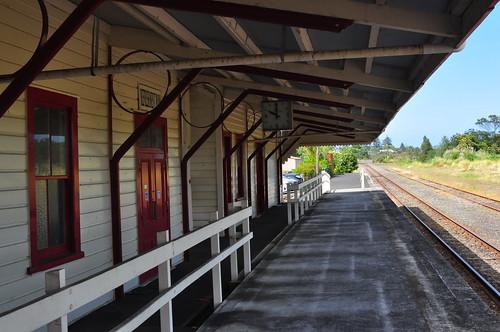 Helensville Station Platform