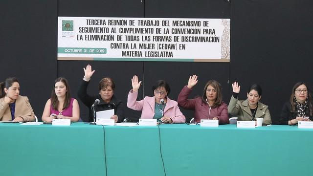 31/10/2019 Subcomisión de la Comisión de Igualdad de Género. Dip. Beatriz Rojas Martínez