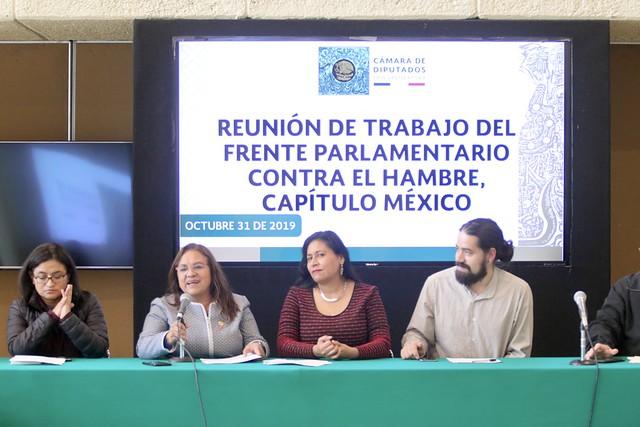 31/10/2019 Parlamento Abierto contra el Hambre. Dip, Aleida Alavéz Ruiz