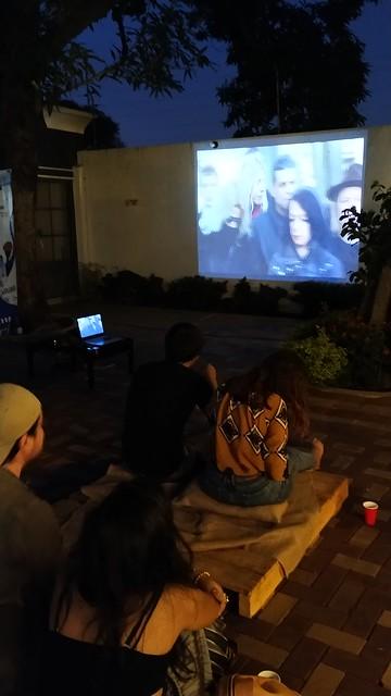 Cine al aire libre AFU