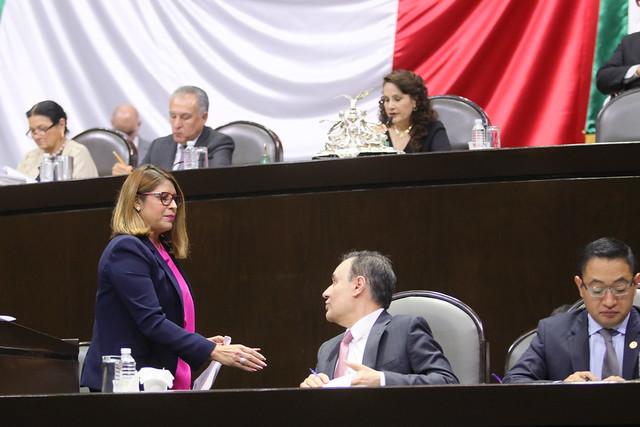 31/10/2019 Tribuna Dip. María Guillermina Alvarado Moreno