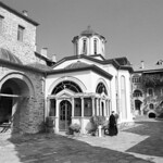 Athos Chapel  (Nikon FM3a / Tri-X)
