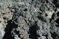 Spatter mounds (Bonito Lava Flow, upper Holocene, erupted from Sunset Crater; San Francisco Volcanic Field, Arizona, USA)