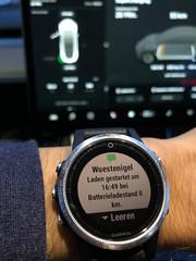 Tesla Model 3 charging via App