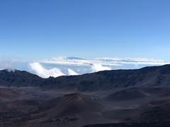 Mauna Kea, Mauna Loa, Hualalai, and Mount Haleakala