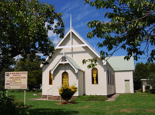Uniting Church, Robertson, NSW.