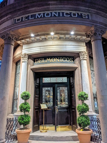 Delmonico's Entrance