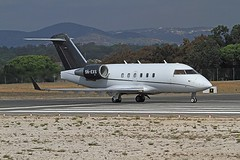5N-EXS Canadair CL600 Challenger Faro 13-10-2019