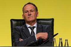 Nahaufnahme von Hans-Joachim Watzke, Fußballverein-Geschäftsführer des BVB