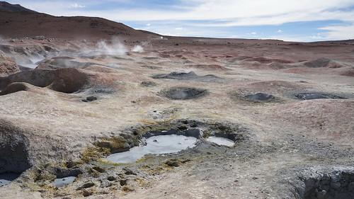 Volcanic battlefield